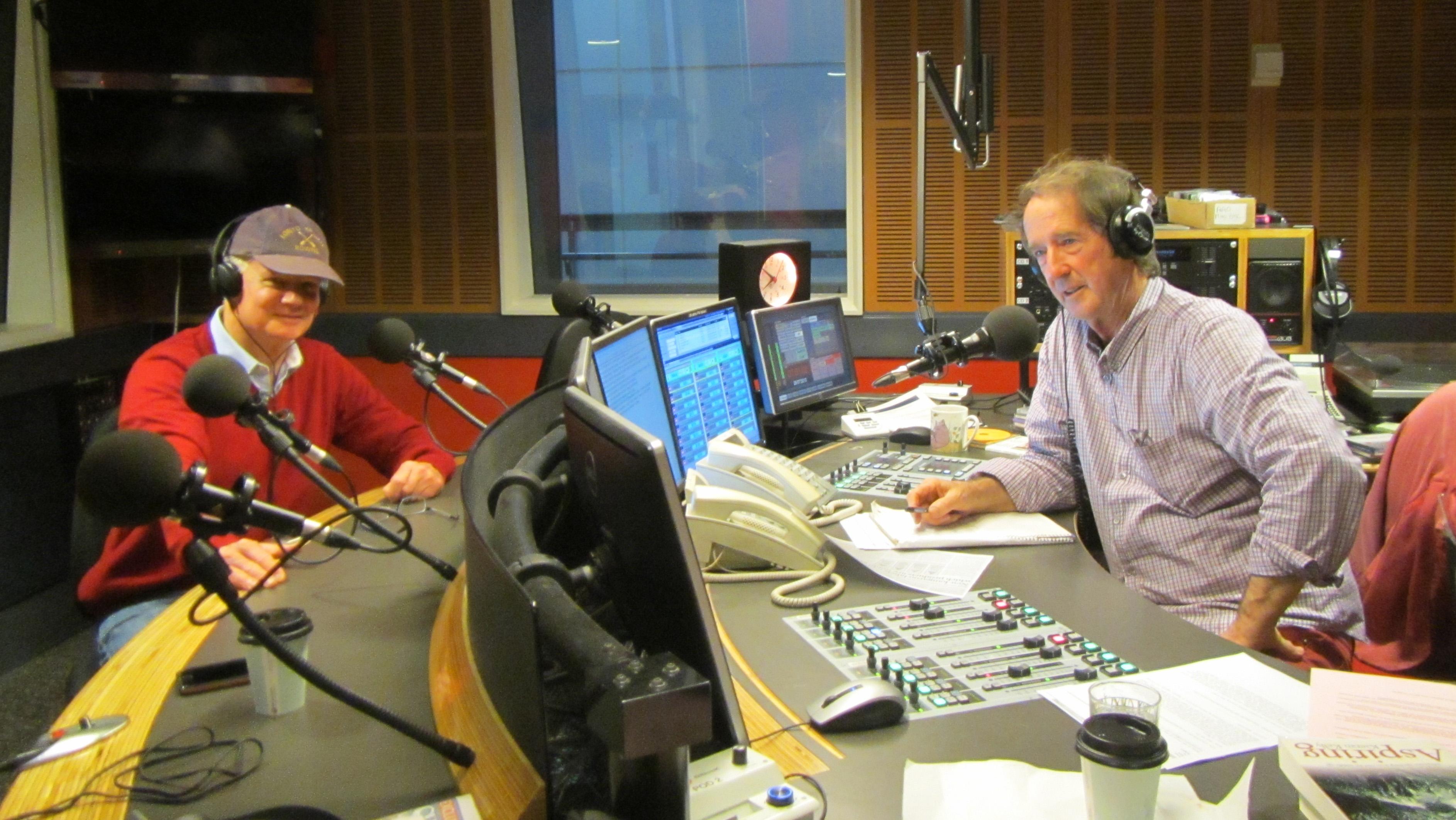 Appearing on ABC Radio show Australia All Over with Ian McNamara