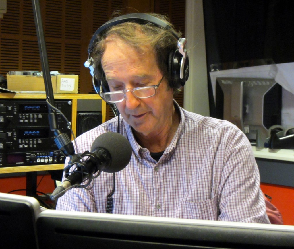 Ian McNamara, a great friend, host of Australia All Over and radio broadcasting legend