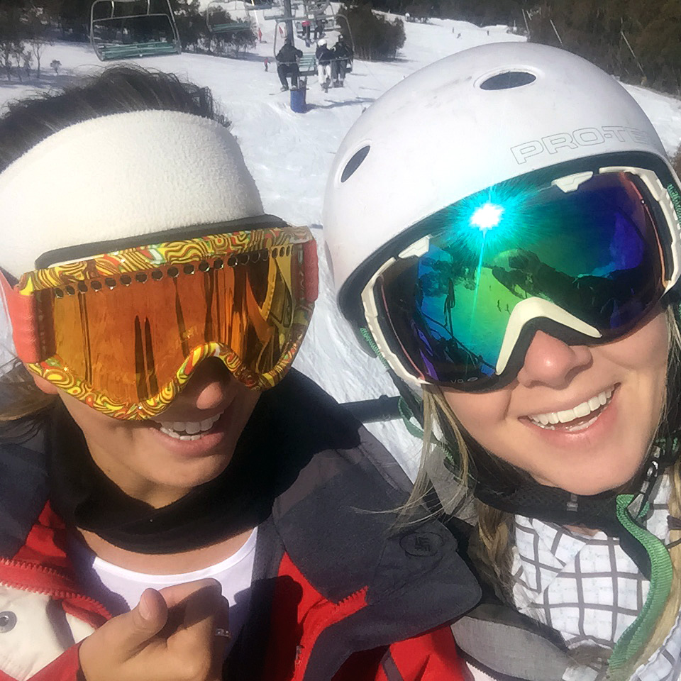 Catherine's first experience of skiing without a plate in her leg. 2½ years after surgery for a tibial plateau fracture