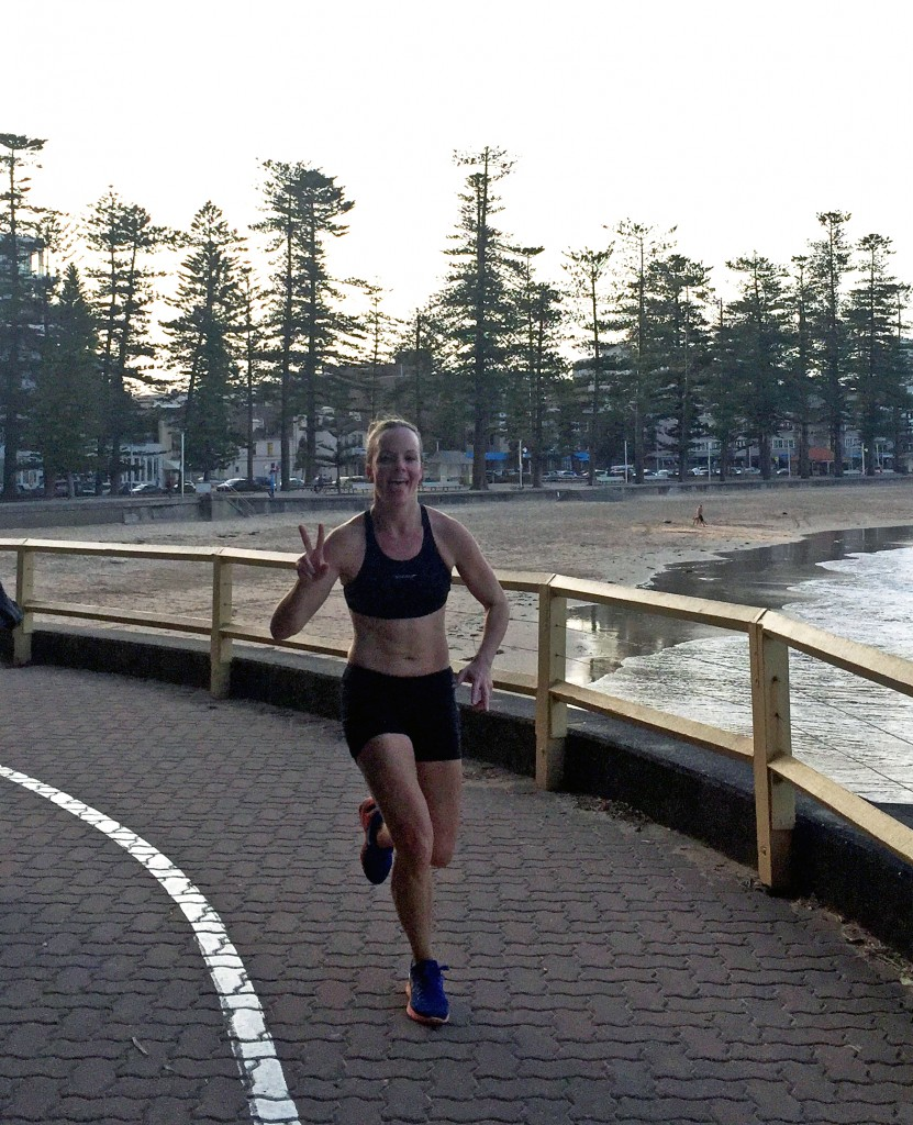 Look who I bumped into on Friday afternoon going for a run/ swim biathlon after work. Amelia K