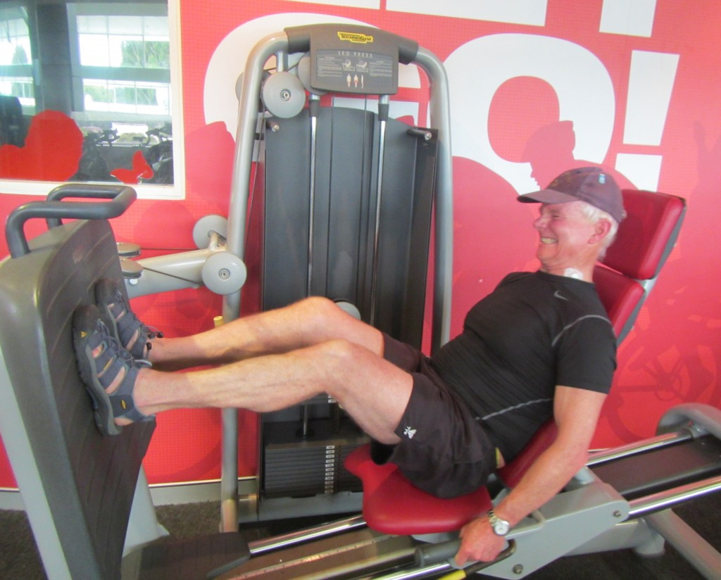Nine months after surgery I finally  manage to leg press my body wieght